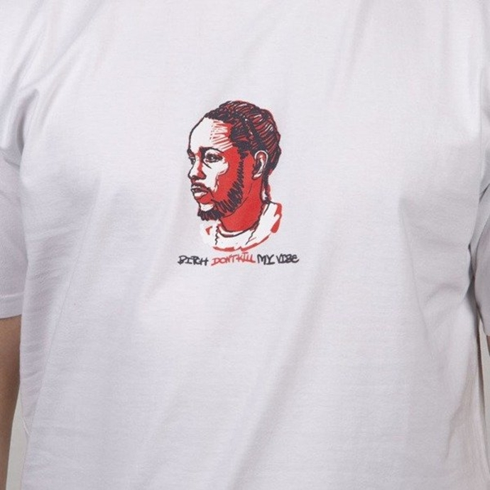 Koszulka t-shirt Mass Dnm Icon MC Kendrick white