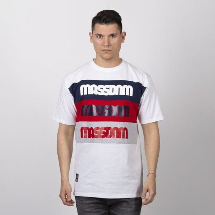 Koszulka t-shirt Mass Dnm Separate white