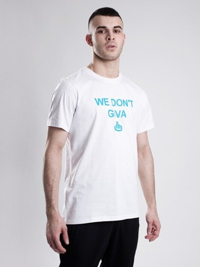 Koszulka t-shirt Stoprocent Dont white