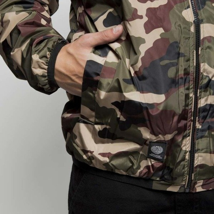Kurtka MASS Denim Base woodland camo