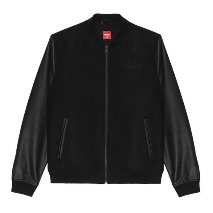 4f03fe498a9ad Kurtka wiosenna Prosto Klasyk Baze baseball jacket black