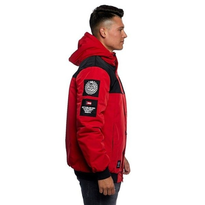 Kurtka zimowa Mass Denim Republic Jacket red