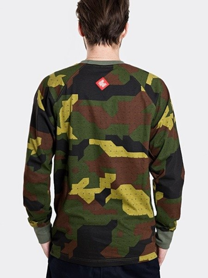 Longsleeve Storpocent TAG17 Camu Green