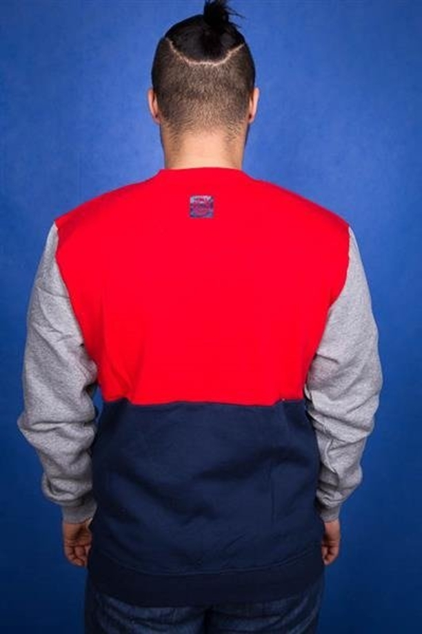 Mass Bluza BK Pocket Base Red