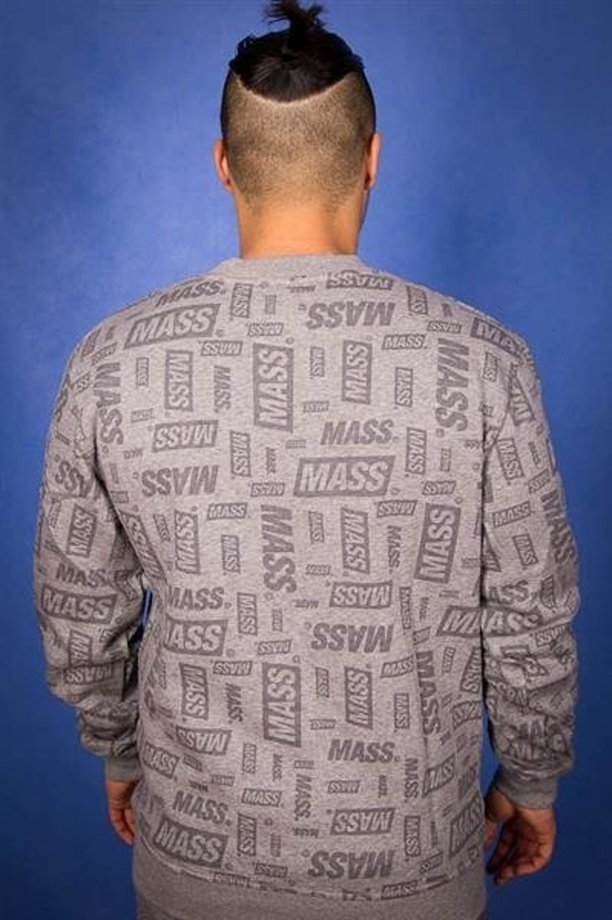 Mass Bluza BK The Logo Grey