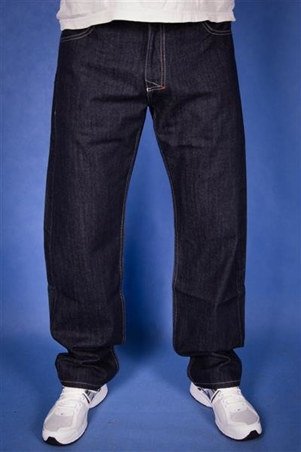 Mass Jeans Mosaic Regular Fit Granatowe