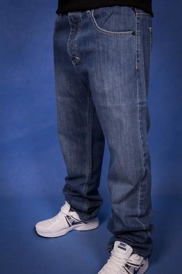 Mass Spodnie Jeans Capitol Stright Blue