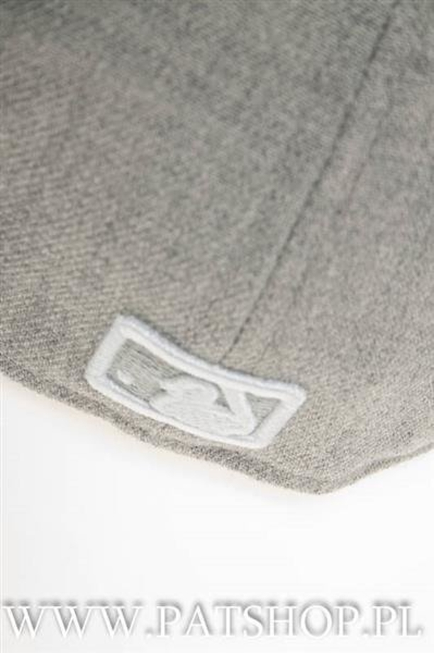 NewEra League MLB AtlBra HeatherGrey