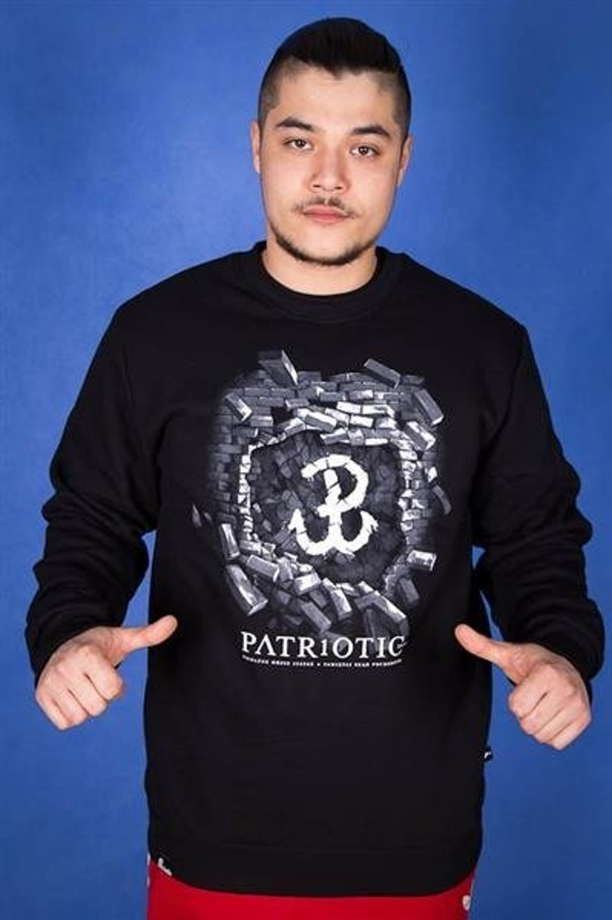 Patriotic Bluza BK PW Black