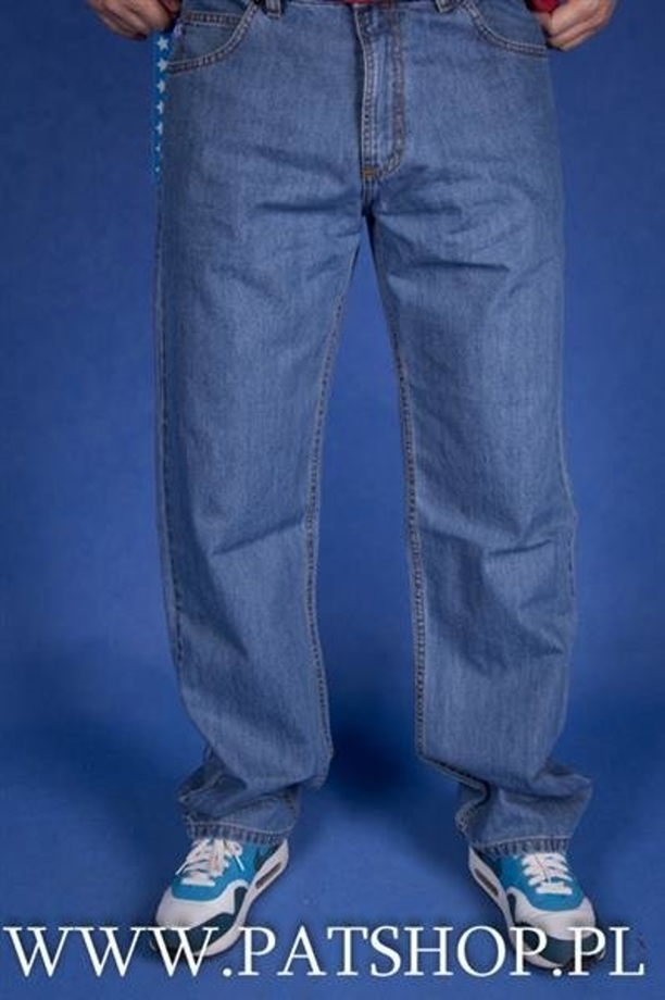SSG Spodnie Jeans Outline Regular LBlue
