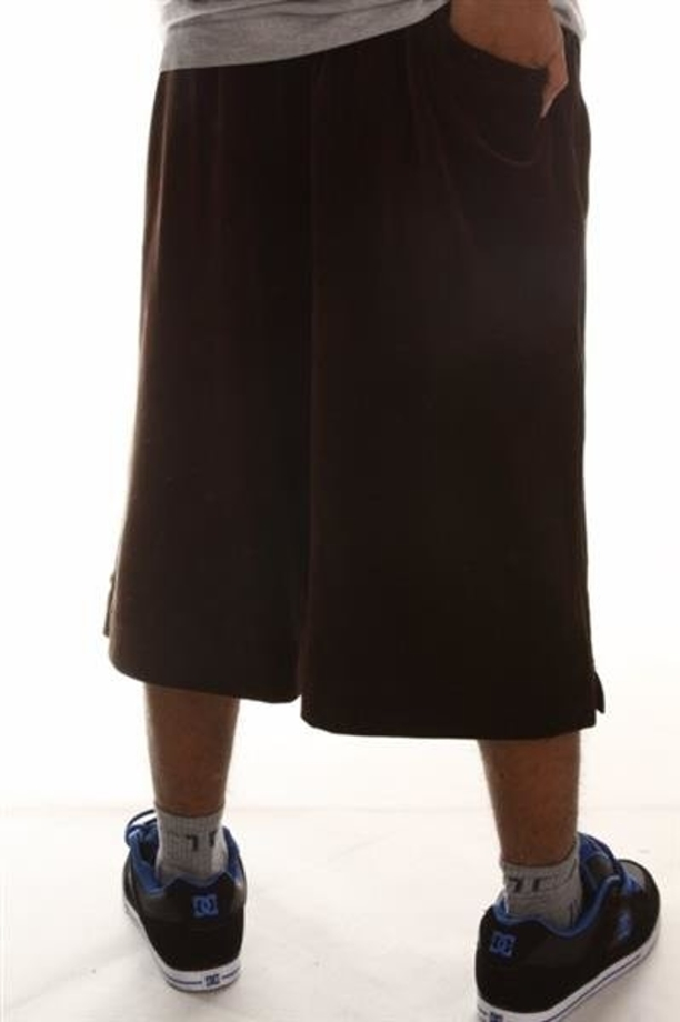 STOPROCENT SPODENKI VELUR SHORTS TAG BROWN
