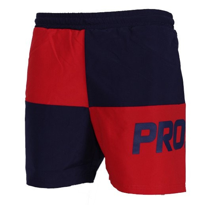 Spodenki Prosto Klasyk Shorts Ches red/dark blue