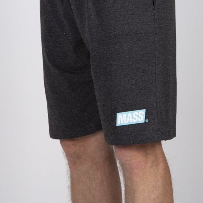 Spodenki Szorty Mass Denim Sweatshorts Big Box dark grey