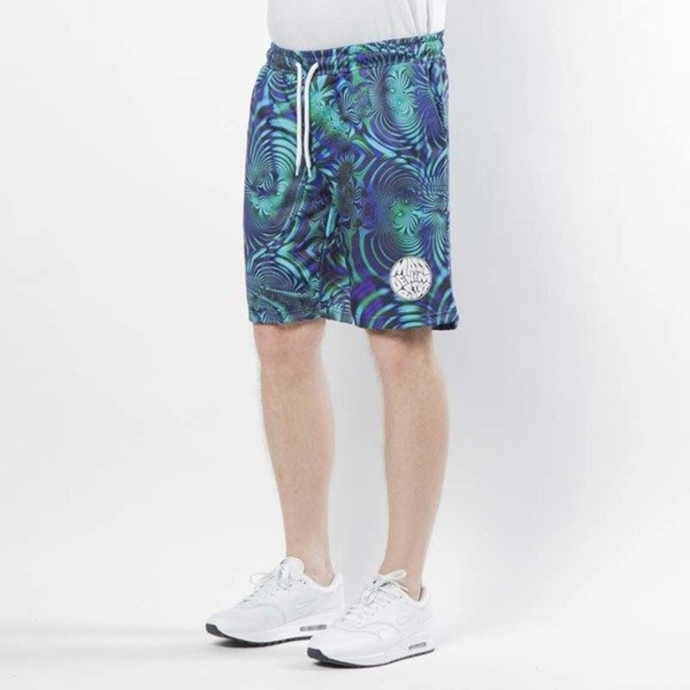 Spodenki Szorty Mass Denim Sweatshorts Galaxy multicolor