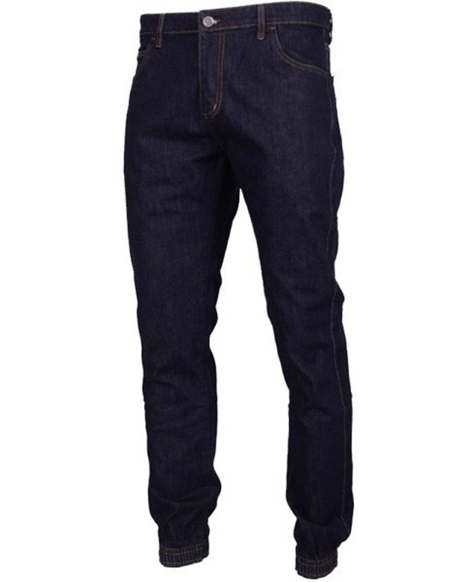 Spodnie Jogger Patriotic Tag Box jeans dark blue
