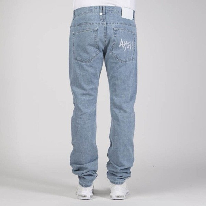 Spodnie Mass Denim Signature Tapered Fit jeans light blue