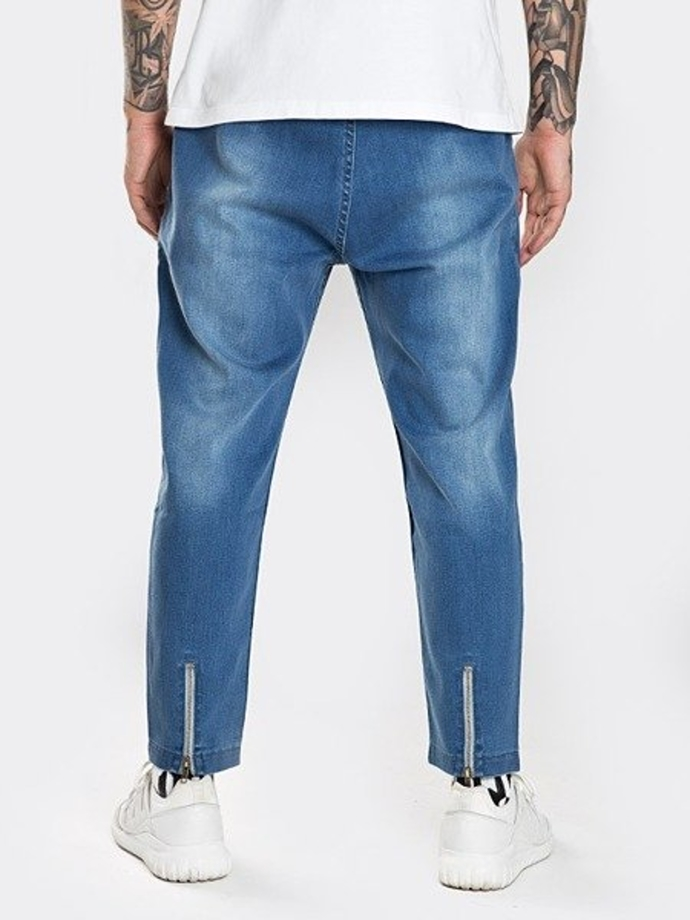Spodnie Stoprocent Carrot Slice jeans blue