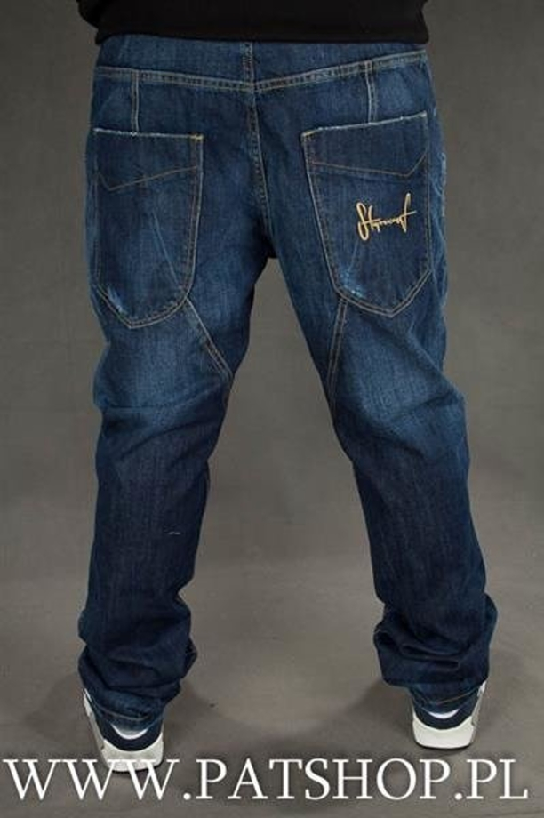 Stoprocent Spodnie Jeans Pocket Slim Low