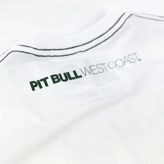 T-Shirt PITBULL Pineapple Logo white