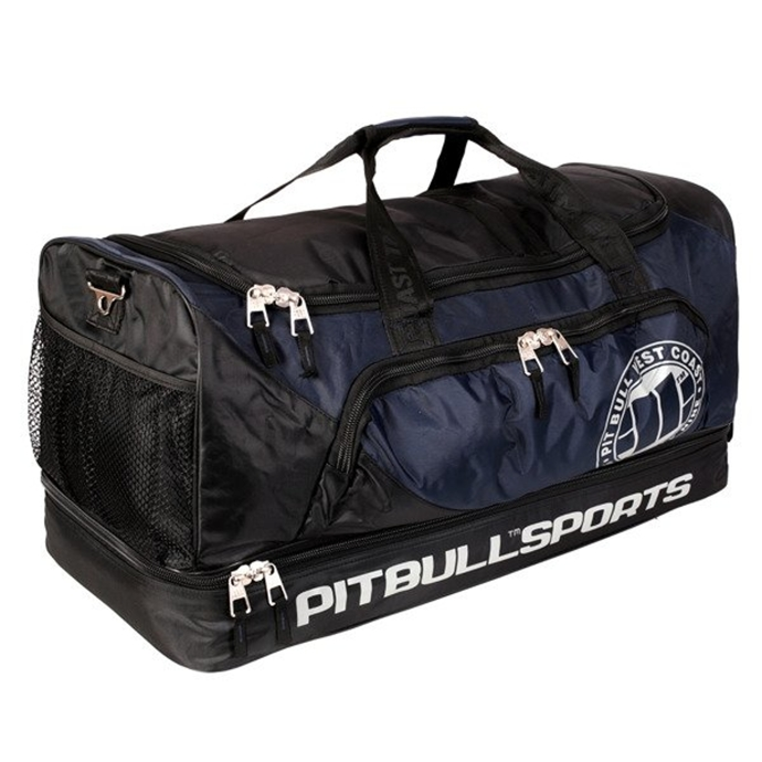 Torba sportowa Pitbull Big Duffle Sports black/navy